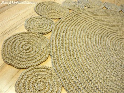 handmade playful jute rug 5ft