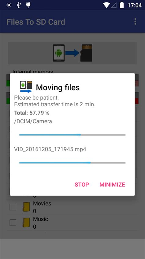 how to make play to sd card files to sd card android apps on play