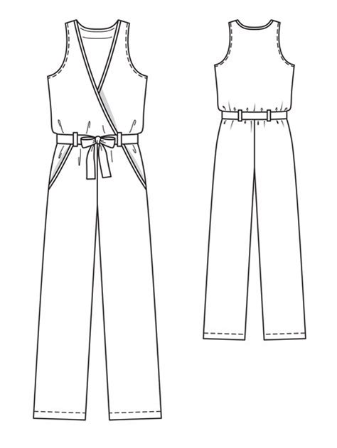 jumpsuit pattern free downloadable sleeveless jumpsuit 02 2013 124 sewing patterns