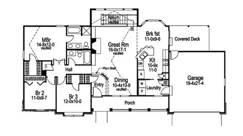 house plans for wide lots foxridge country ranch home plan 007d 0136 house plans