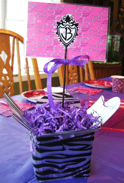 how to decorate table for birthday party photograph this b