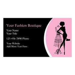 clothing boutique business cards clothing boutique business cards zazzle