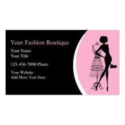 boutique business cards clothing boutique business cards zazzle