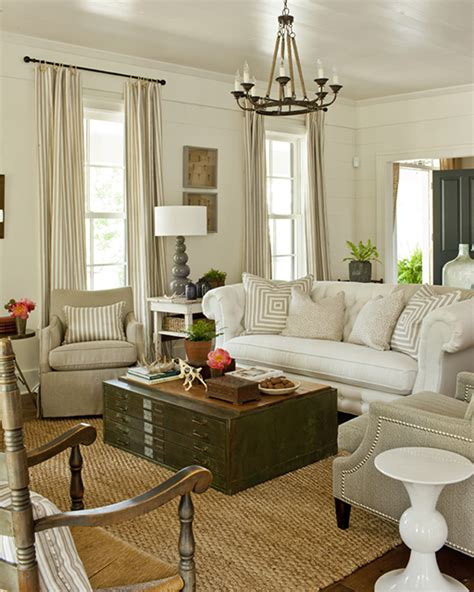 southern style living rooms farmhouse revival southern living house plans