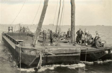 platte schuit de geschiedenis van schellinkhout periode 1945