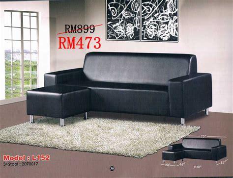 Sofa Modern Murah sofa l shape murah malaysia home everydayentropy