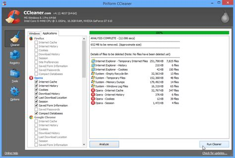 ccleaner twitter ccleaner improves opera browser support registry cleaning