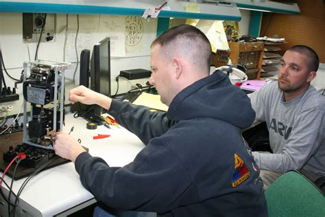 electrician in the army power plant electrician honored by army chief of staff for