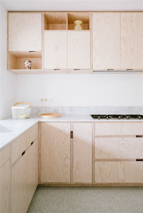 Plywood Kitchen Cabinet | how to add plywood to your home decor