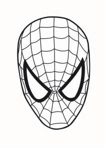 spideman outline clipart