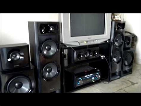 sony ht m5 home theatre component system vidoemo