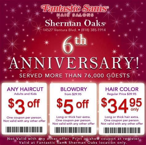 new year hair promotion 12 best images about fantastic sams coupons on