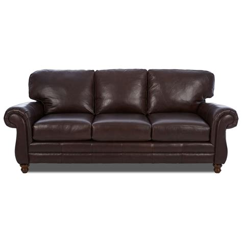 rolled arm leather sofa chelsea leather sofa w rolled arms rotmans sofas