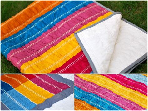 How To Make A Ruffle Quilt by Bijou Lovely Lovely Designs Ruffle Quilt