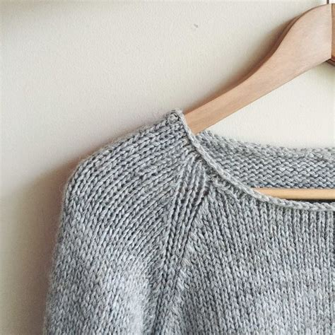 simple jumper pattern knitting how to knit a simple neckline yarns pear trees and knits