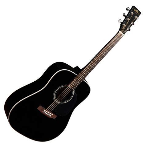 Up Guitar Dm 1 sigma dm 1st acoustic guitar black at gear4music