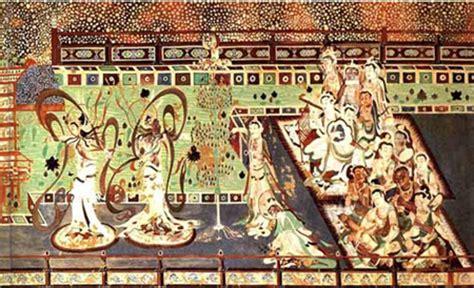 primary source artifact women dancing silk roads