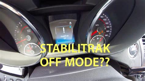 chevrolet ss secret stabilitrak  mode traction