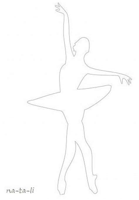 Paper Ballerina Template creative ideas diy beautiful snowflake ballerinas from