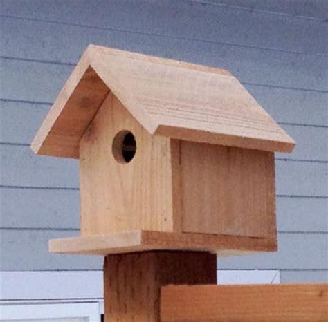 Ana White Build A Kids Kit Project 2 Birdhouse Free Cedar Bird House Plans