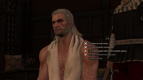 beard and hairstyles witcher 3 the witcher 3 wild hunt guide how to get hair beard