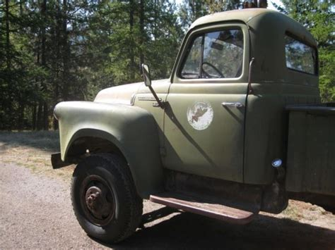 International Harvester Truck Wheels 1956 International S 140 4x4 Factory 9 Bed
