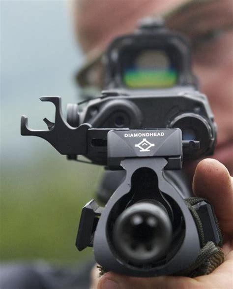diamondhead d45 swing sights d 45 45 degree off set swing sights integrated sighting