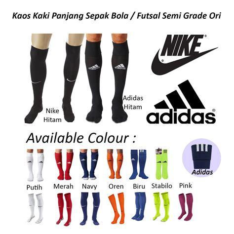Kaos Kaki Nike Futsal Grade Ori kaos kaki sepak bola futsal panjang semi grade ori