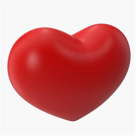 3d hearts shape 3d max