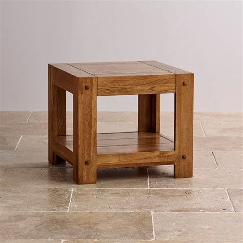 Bedroom Table Ls Rustic by Quercus Bedside Table In Rustic Solid Oak Oak Furniture Land