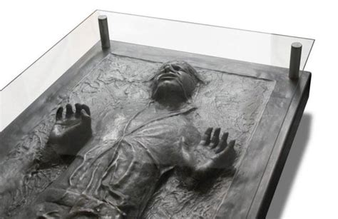 han in carbonite coffee table