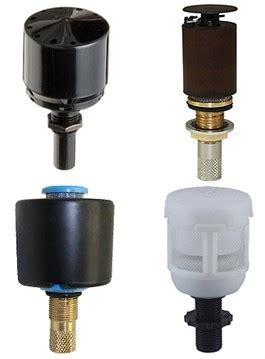 internal float operated drain valves