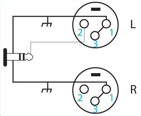 3 5mm xlr wiring diagram wiring diagrams schematics