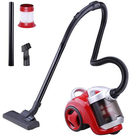 bagless canister vacuum cleaner multi surface carpet