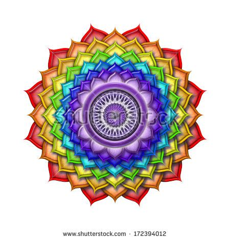 crown chakra color crown chakra stock images royalty free images vectors