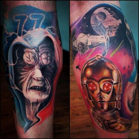 star wars tattoo design wars ideas