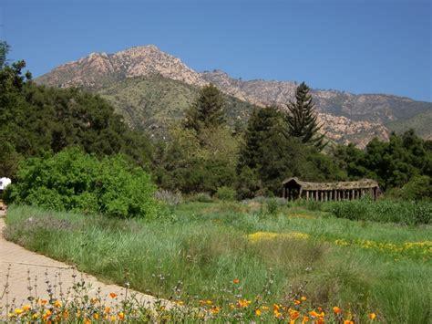 the santa barbara botanic garden gardens i