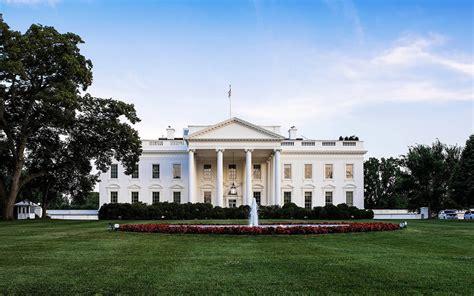 washington dc white house white house front view