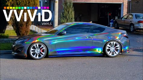 Verchromtes Auto by Crazy Vvivid Holographic Black Chrome In Sunlight Raw