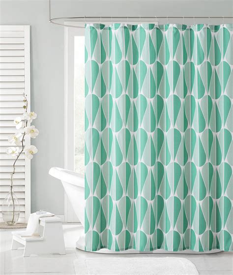 teal fabric shower curtain teal and aqua green embossed fabric shower curtain tear