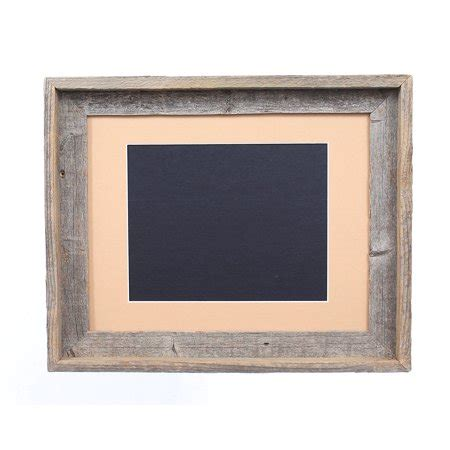 10 x 14 inches mat barnwoodusa rustic 11 by 14 inch signature picture frame