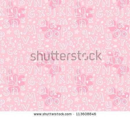 stock abc pattern vector illustration letter apricots stock vector 128800789