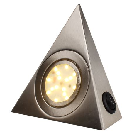 triangle light led kitchen cabinet l trigonometric with