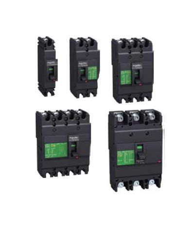 schneider easypact ezc 100 moulded circuit breaker mccb 15a to 100a tripplebar