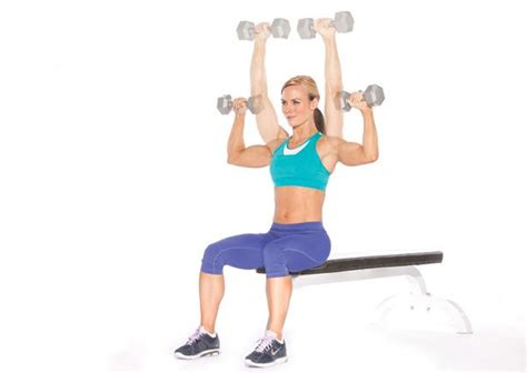 seated dumbbell bench press ladies 6 exercises for beautifully sculpted shoulders