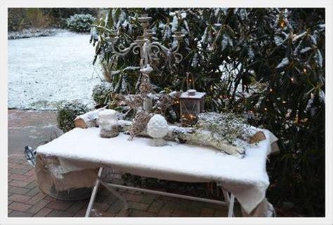 Winter Outdoor Deko- winterliche Draußen Deko E Boxen