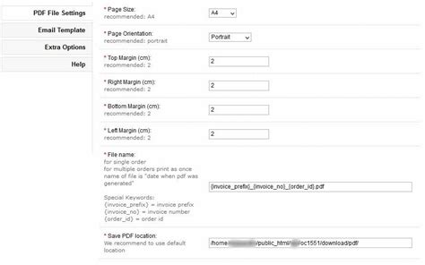 change invoice layout in opencart opencart pdf invoice with autosend install guide