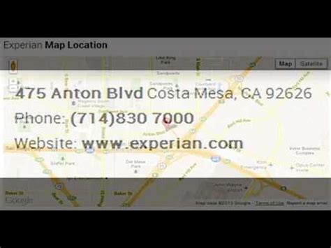 experian phone number experian corporate office contact information