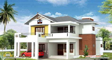 two storey house february 2012 kerala home design and floor plans