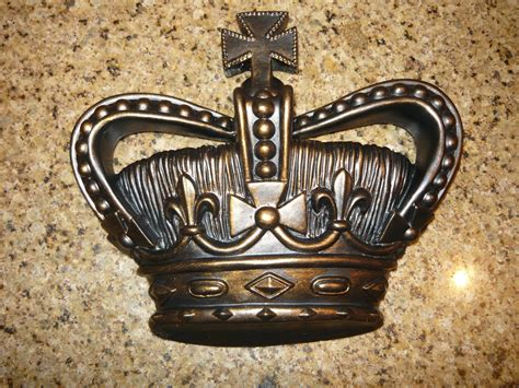 royal crown home decor crown wall plaque crown wall decor kingdom medieval